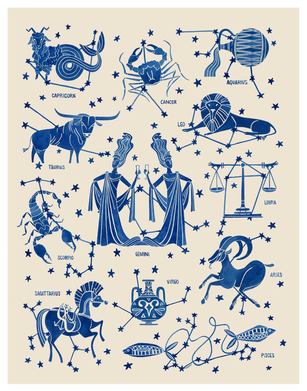 zodiacchart - As previsões astrológicas para 2018 preferidas da nossa editora