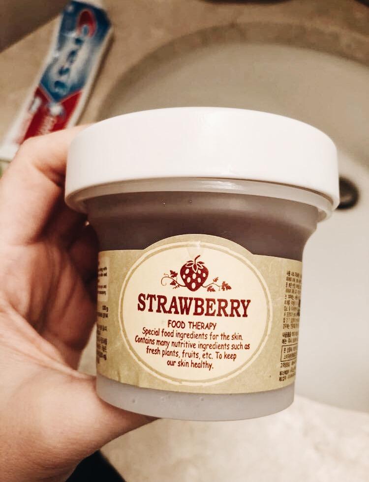 Esfoliante da Strawberry