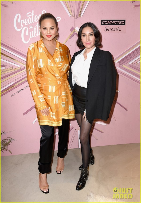 Chrissy Teigen & Jen Atkins |  image credits just jared