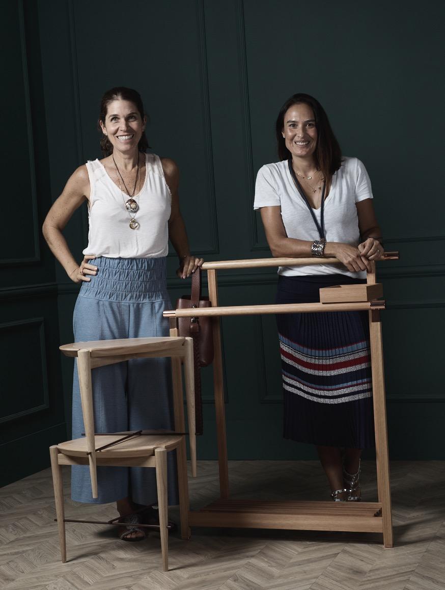 Luciana Gianella e Eva Bichucher