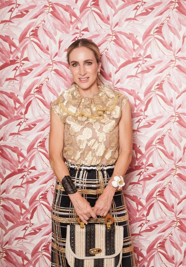 Luiza Ortiz, de Loop Vintage para Vogue. (image credits: Cassia Tabatini)