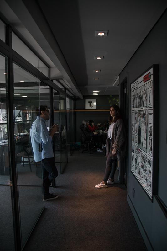 Thiago e Rosa, editor-in-chief do Lolla