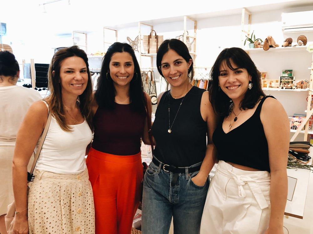 #thelollagirls team! Algumas das colaboradoras do Lolla. Shelly Bronstein, Kanucha Barbosa, Rosa Zaborowsky e Maria Ruth Jobim