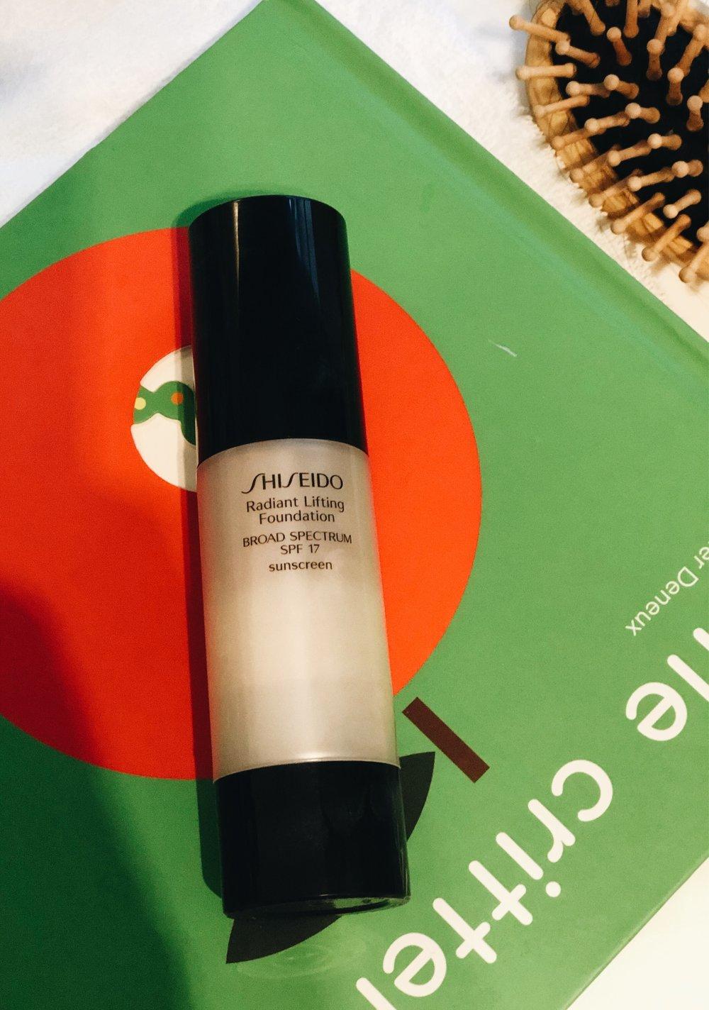 Base iluminadora da Shiseido