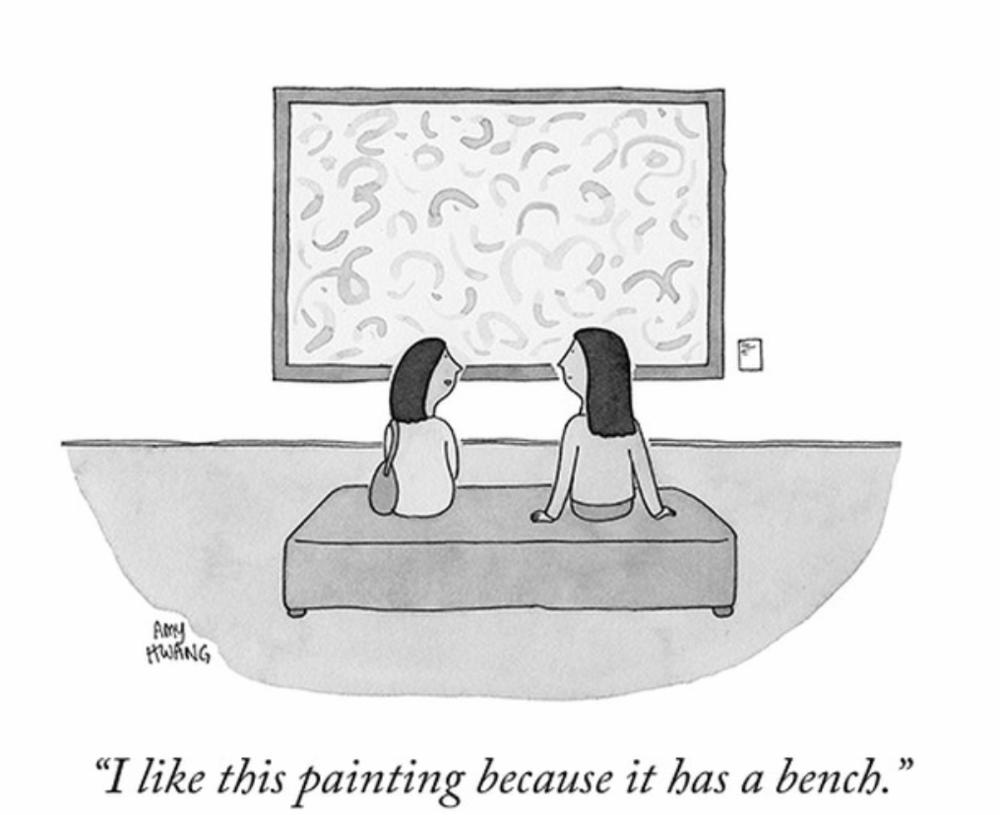 The New Yorker Cartoons, art by @cartoonamy