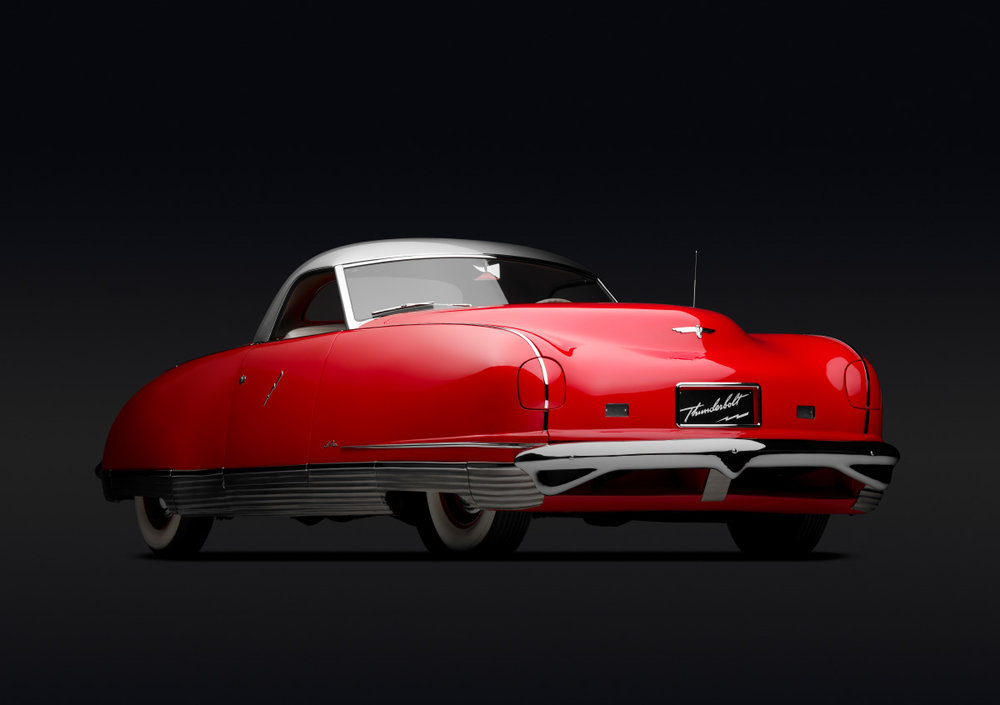 Chrysler Thunderbolt, 1941 | Michael Furman | Portland Art Museum
