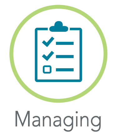 Managing Icon