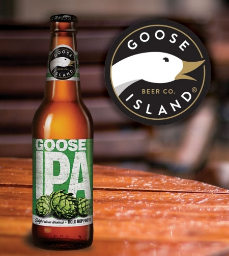 Goose Island IPA - Recognise the goose on our drafts!