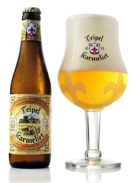Triple Karmeliet - Laura's favourite beer of de Smitse