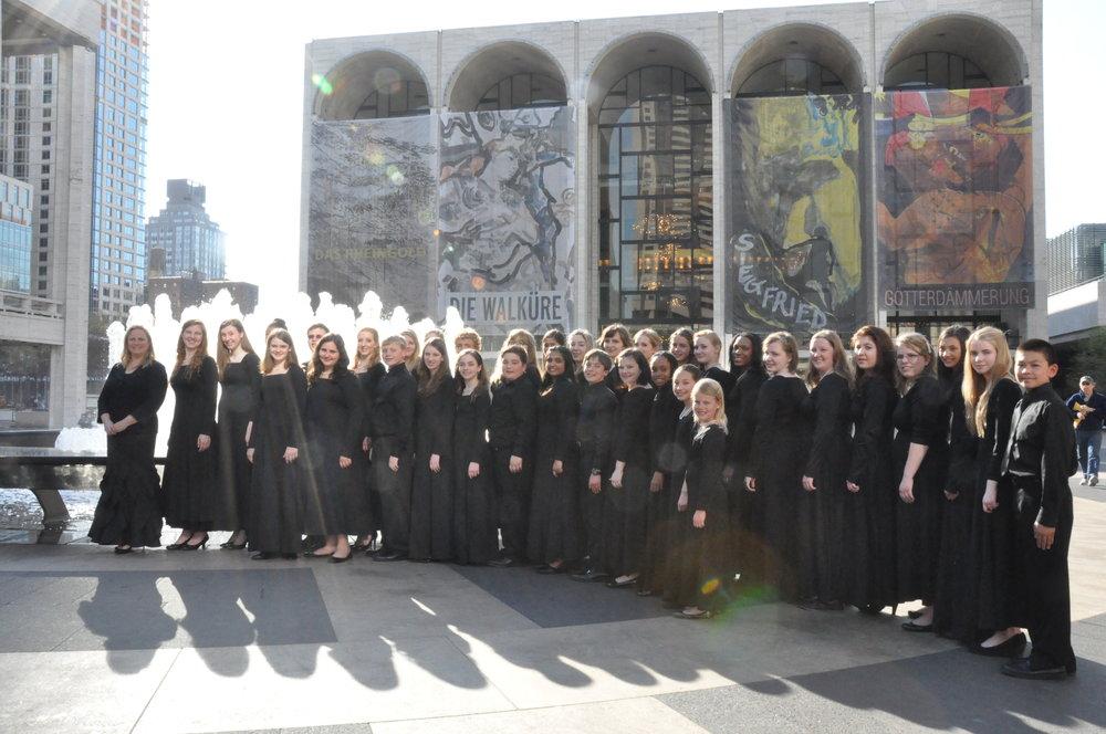 American Youth Harp Ensemble Lincoln Center.JPG