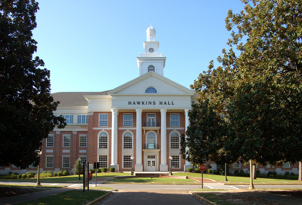 Hawkins Hall - Troy University
