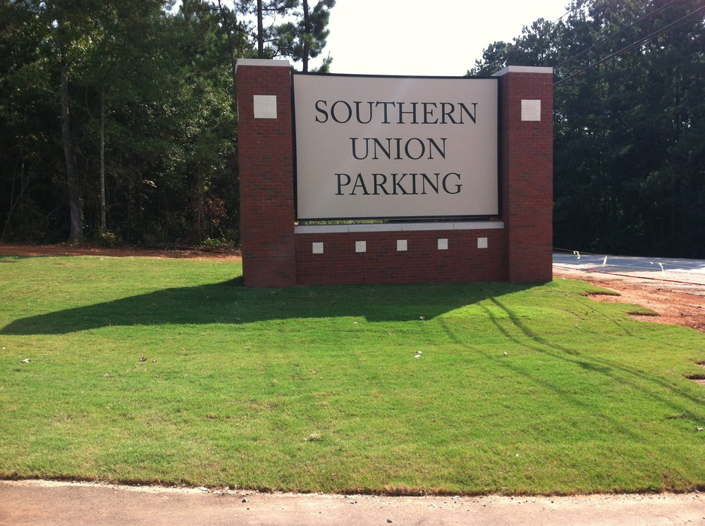 Signage, Lighting, Walking Trails, and Parking Lots - Southern Union Community College
