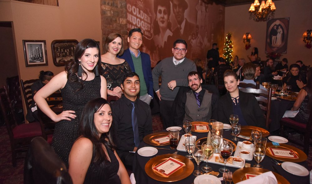 2017 Lion Heart Christmas Party   Company wide dinner festivities for 50+ staff