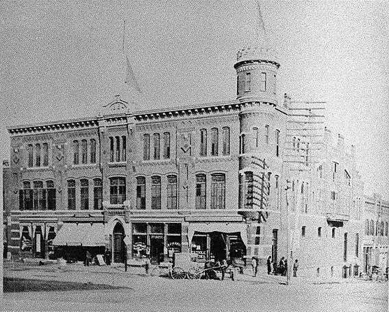 Volunteers Armory, Macon, Bibb County, ca. 1890-1900