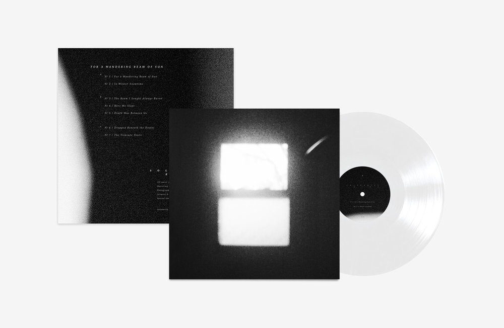 For a Wandering Beam of Sun  is available to  preorder now on Bandcamp  in both vinyl and digital formats. The vinyl is a 2x record printed on ultra clear with a very special etching on side D. Only 250 will be printed.