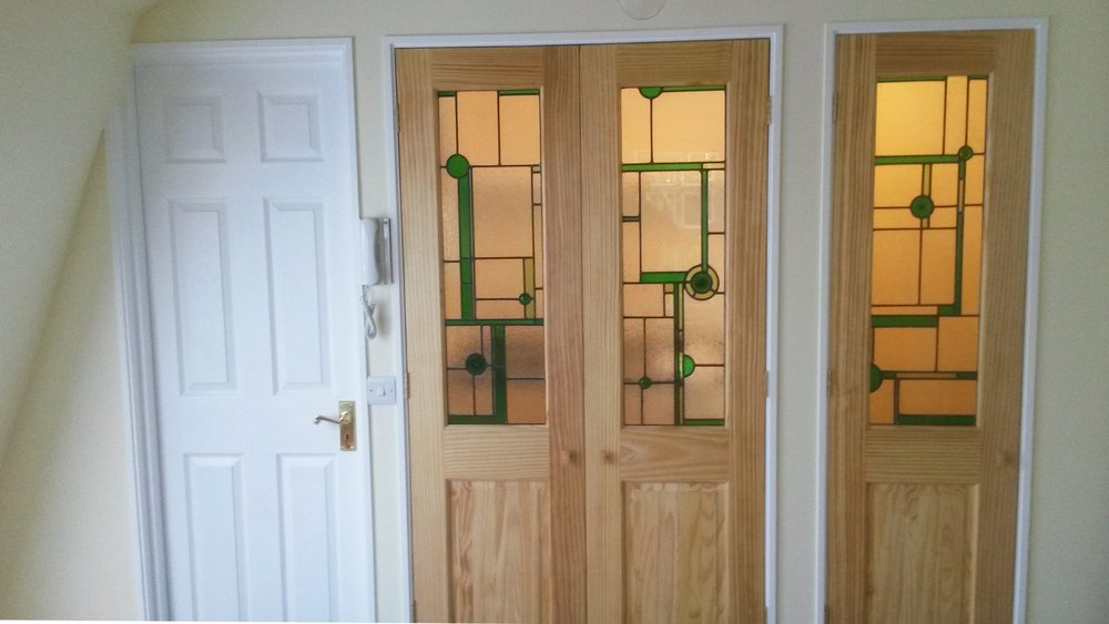 Interior Doors Rafferty Stained Glass