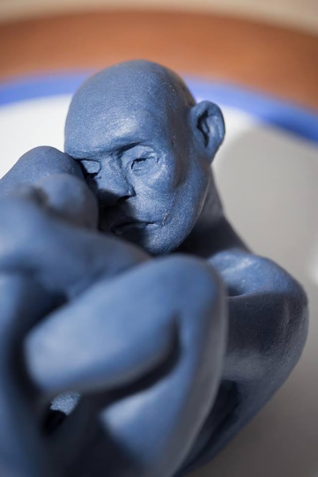 In Blue Series. Detail