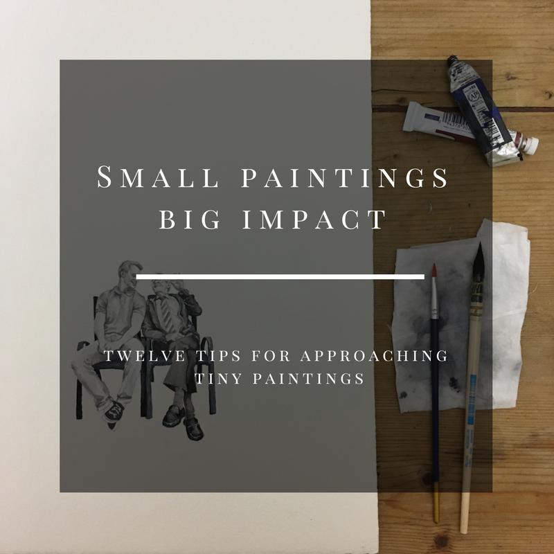 Sandra Robinson, Small painting, big impact