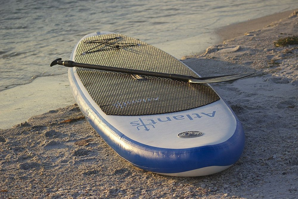 A Stand-Up Paddleboard (SUP) that is lightweight and easy for travel and storage.