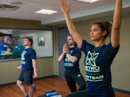 Metro Physical Therapy Yoga | Garden CIty