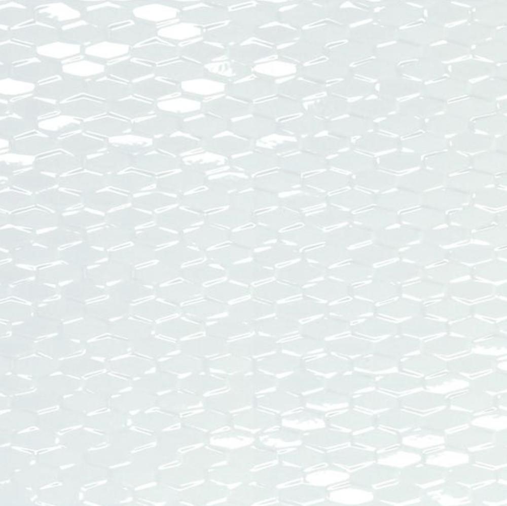 Artwork White Mini Hexagon