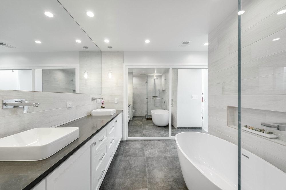 beverly glen bathroom remodel small 10jpg - Bathroom Tile Gallery