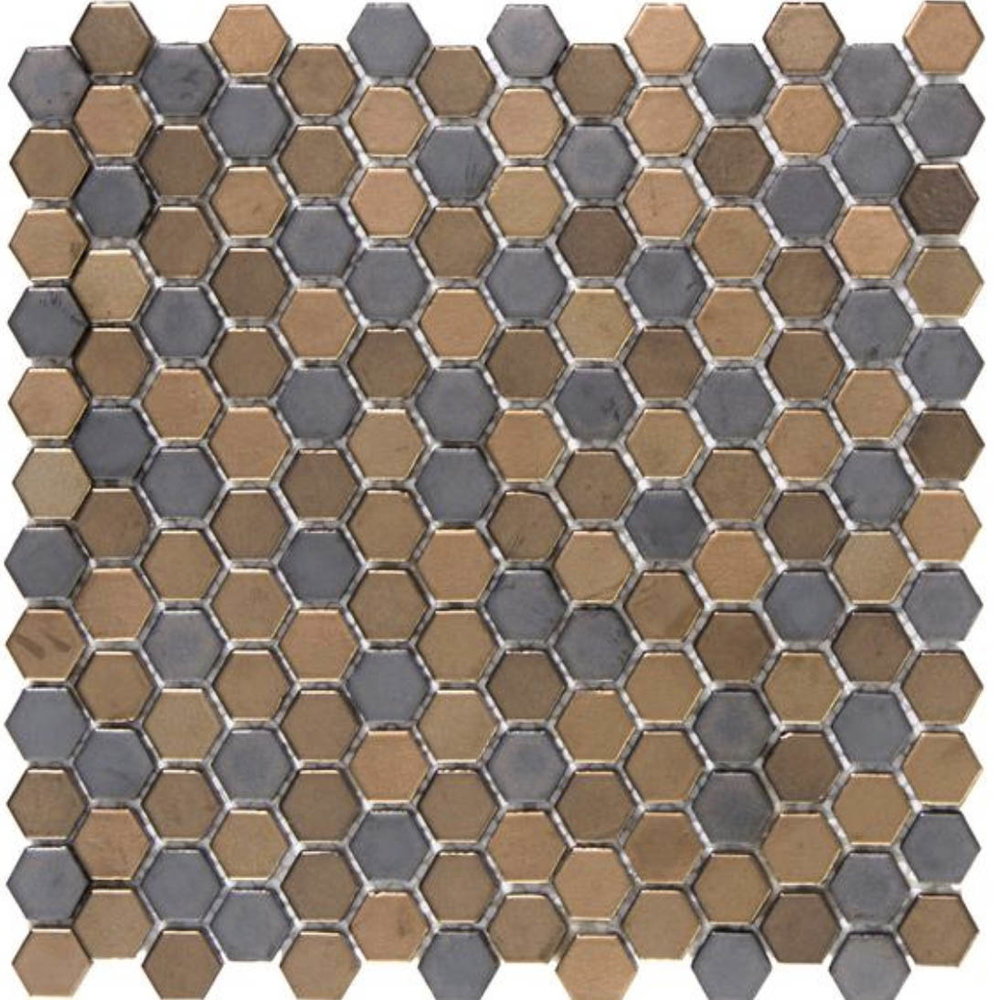 Confetti Hexagon Metal
