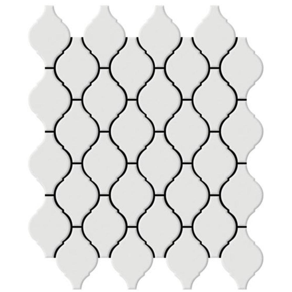 Shape Lantern White
