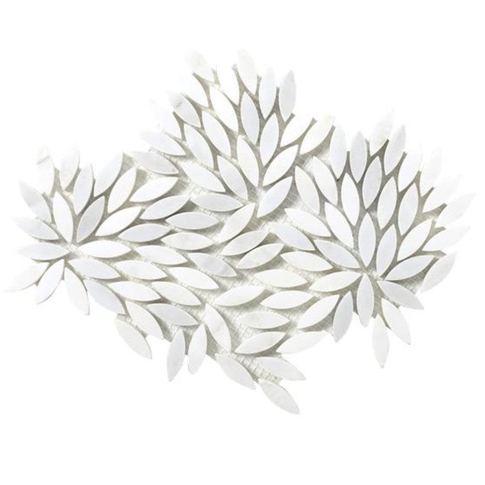 Winter Frost Leaf