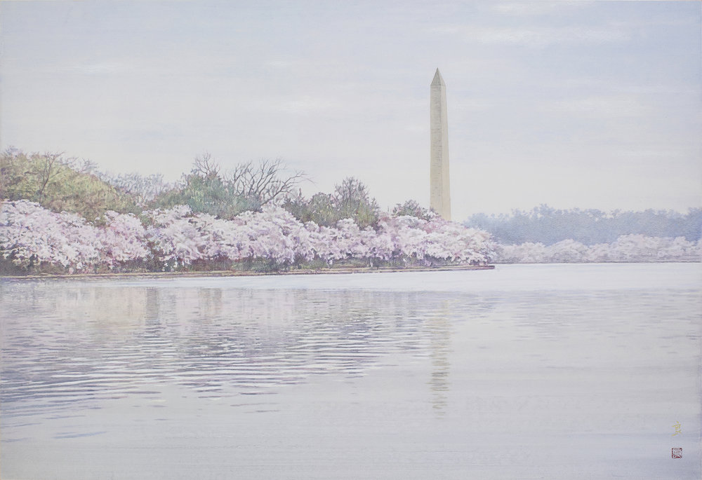伊達良 先生 『 Potomac River 』 P100   高画質改.jpg