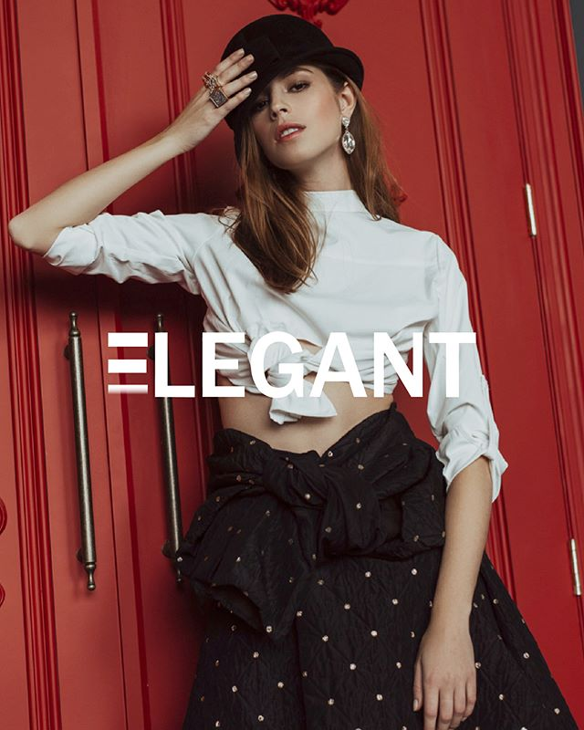 Check out this amazing publication with @caitlinnusche for @elegantmagazine  Photography: @anthonydelia.  Agency: @nextcanada  Wardrobe Stylist: @leeichk Hair & Makeup: @kimc.artistry  Studio: @mintroomstudios  #WAVMGT
