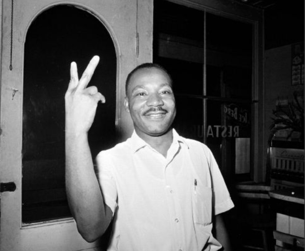 Dr. Martin Luther King Jr. on June 19th 1964. Photographer : unknown. Source : Google.com