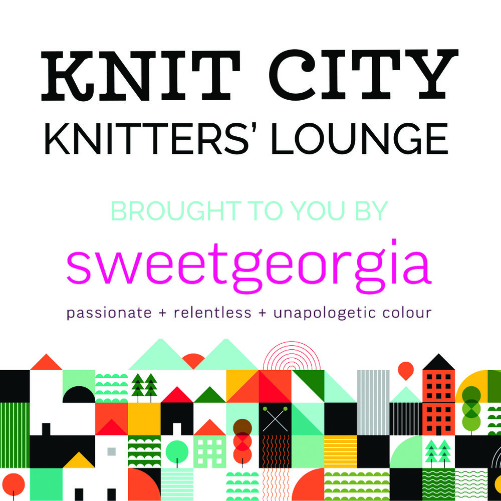 In addition to our world class Marketplace, there are many exciting events to attend that are FREE with admission, including: a full weekend of demonstrations, book signings, meet + greets with your favourite yarn celebrities, a chance to win a gift basket full of goodies from our vendors, and the SweetGeorgia Knitters' Lounge! -