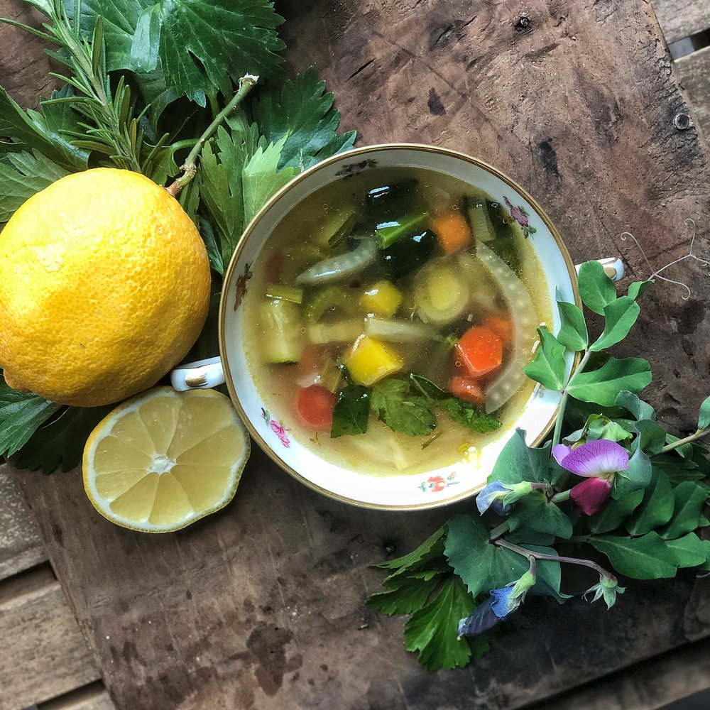 Put a little spring into your soup!