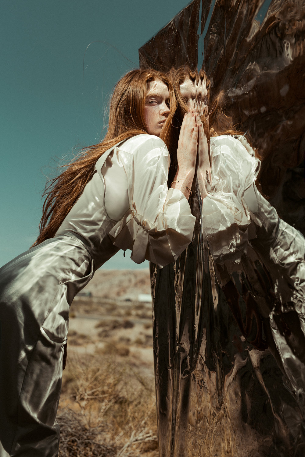 Styled by Brigid, 'Age of Atoms' by Lauren Naylor for Hunger Magazine.