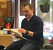 4/6: Montco 2017 Poet Laureate, Chad Frame at Farley's Bookshop