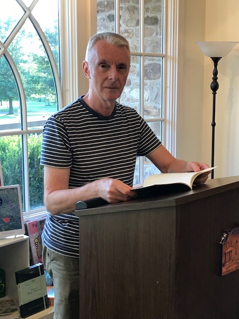 7/26: Paul Ilechko reading from Barktok in Winter at Lahaska Bookshop