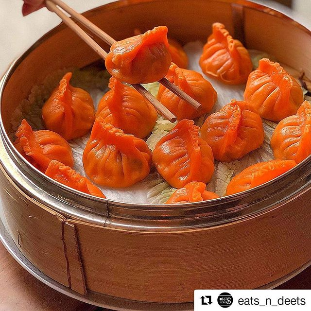 Lumos Gold Fish  #Repost @eats_n_deets (@get_repost) ・・・ Orange Is The New Black 🧡🥢🥟🖤 . 📍@Lumoskitchen Is O-Fish-ally Opened And Serving Some Amazing Dishes And Drinks. . 🏆My Absolute Favorite Is The Tuna Tartare. Oh Lawwd 🤤 . 🥢💪🏼Lori @Girleatsnyc   🔹 🔹 🔹Eats 📷  Fish Dumplings   .