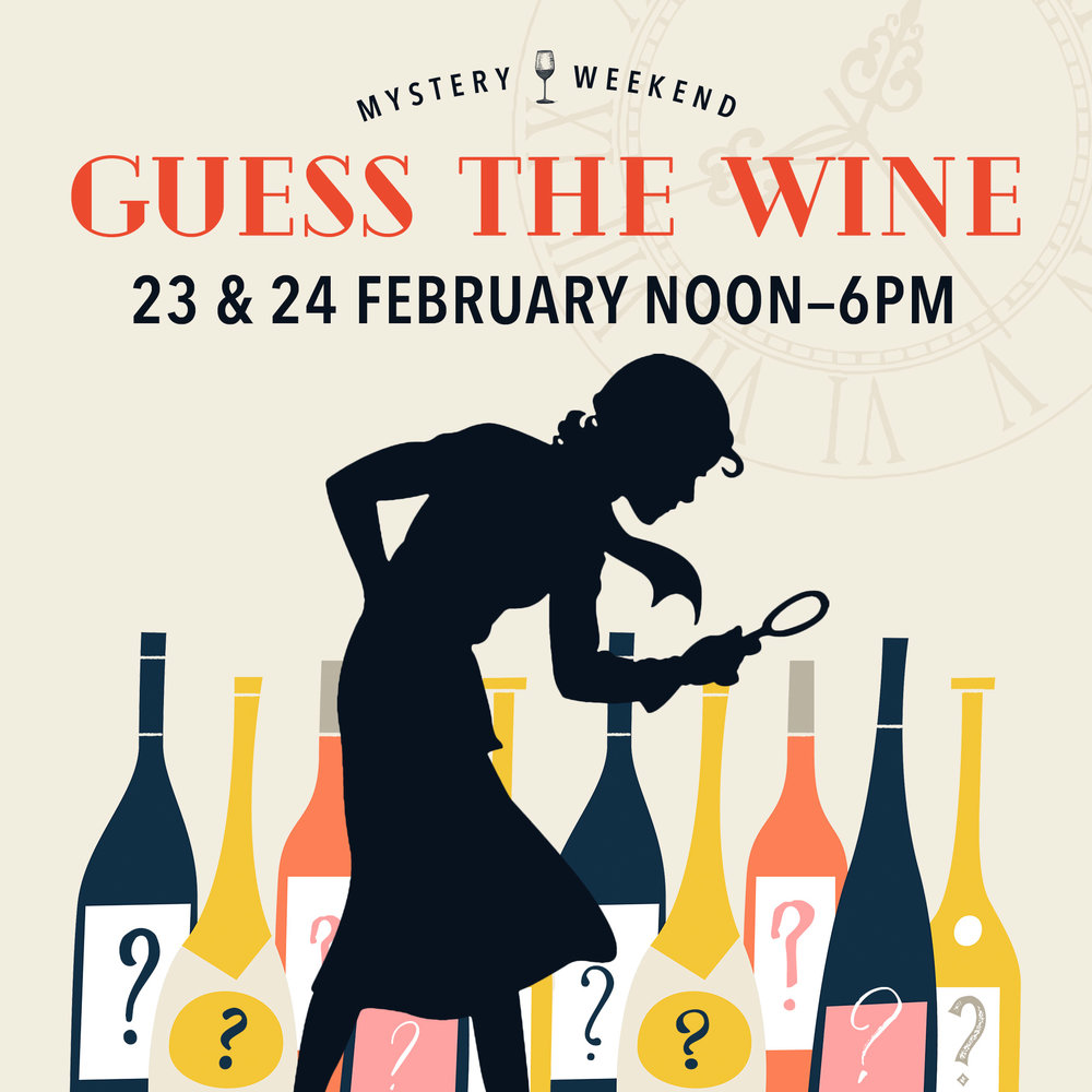 Guess the Wine Langley Mystery Weekend Feb 23&24 Village Wine Shop