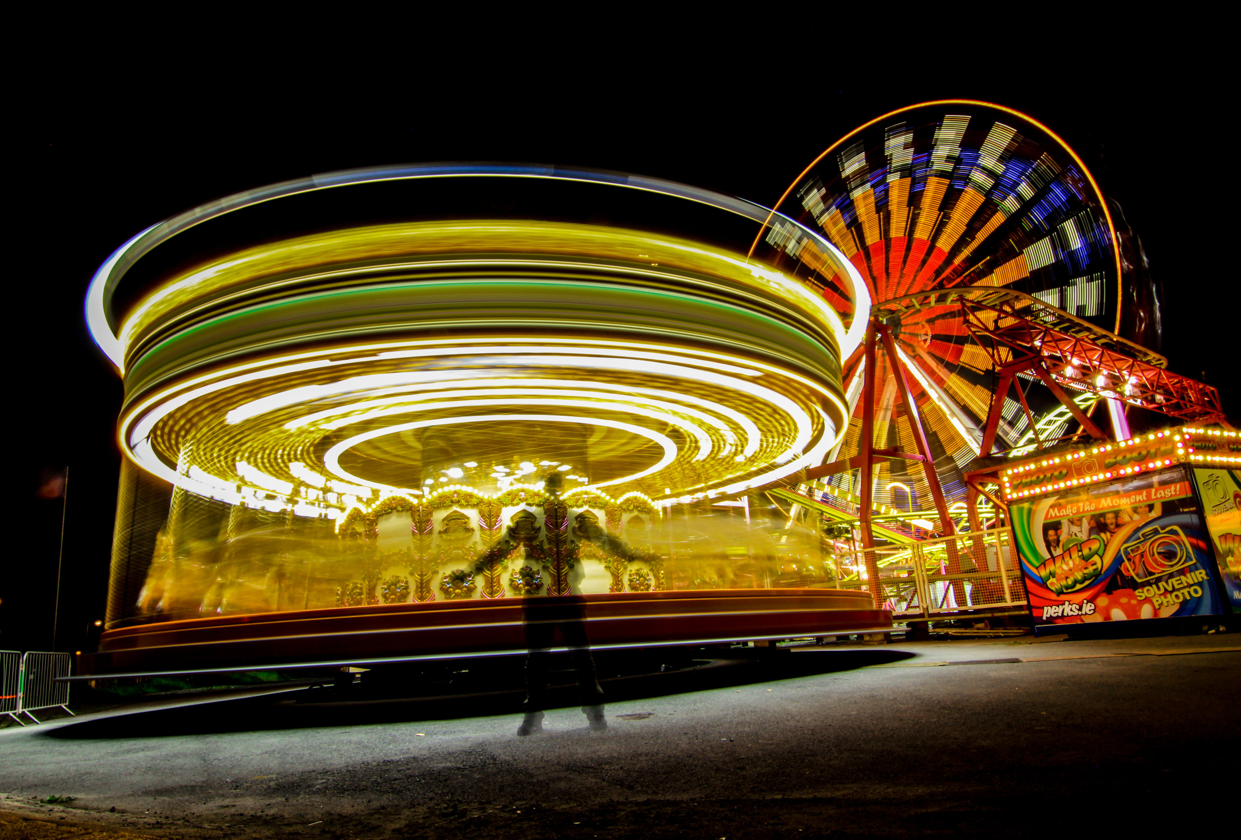 Night Carnival Photography