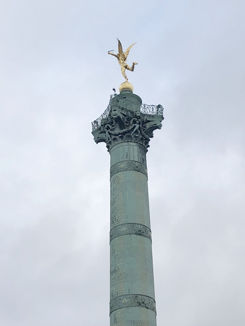 July Column w/ Liberty Statue, Place de la Bastille