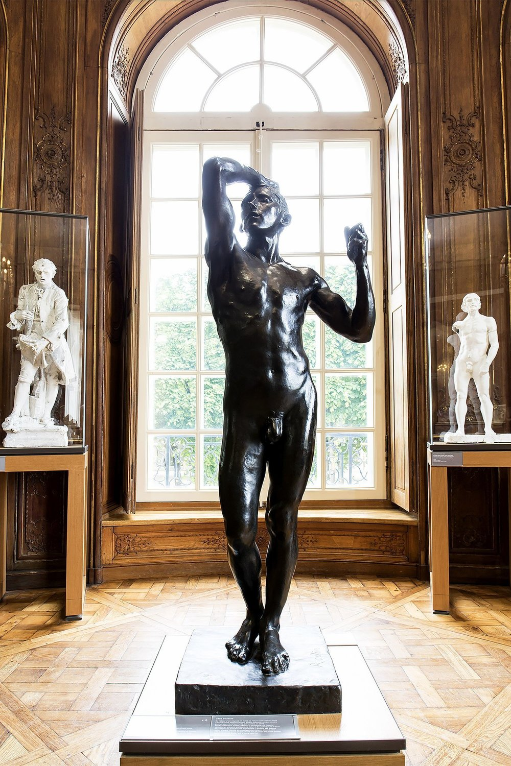 The Age of Bronze. Rodin Museum. Paris. Picture taken by Trover
