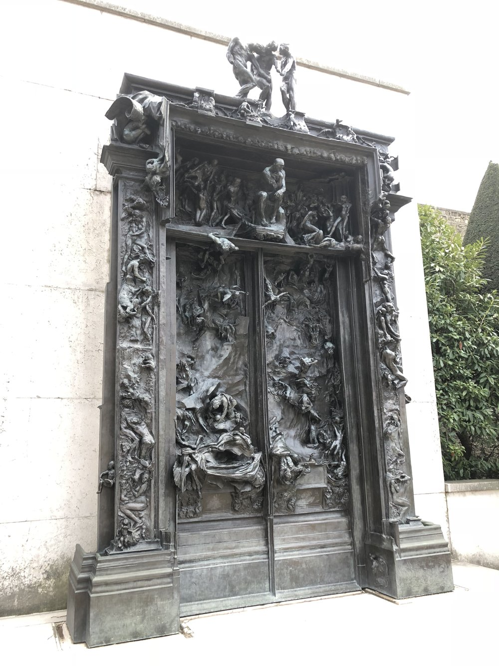 The Gates of Hell. Rodin Museum.