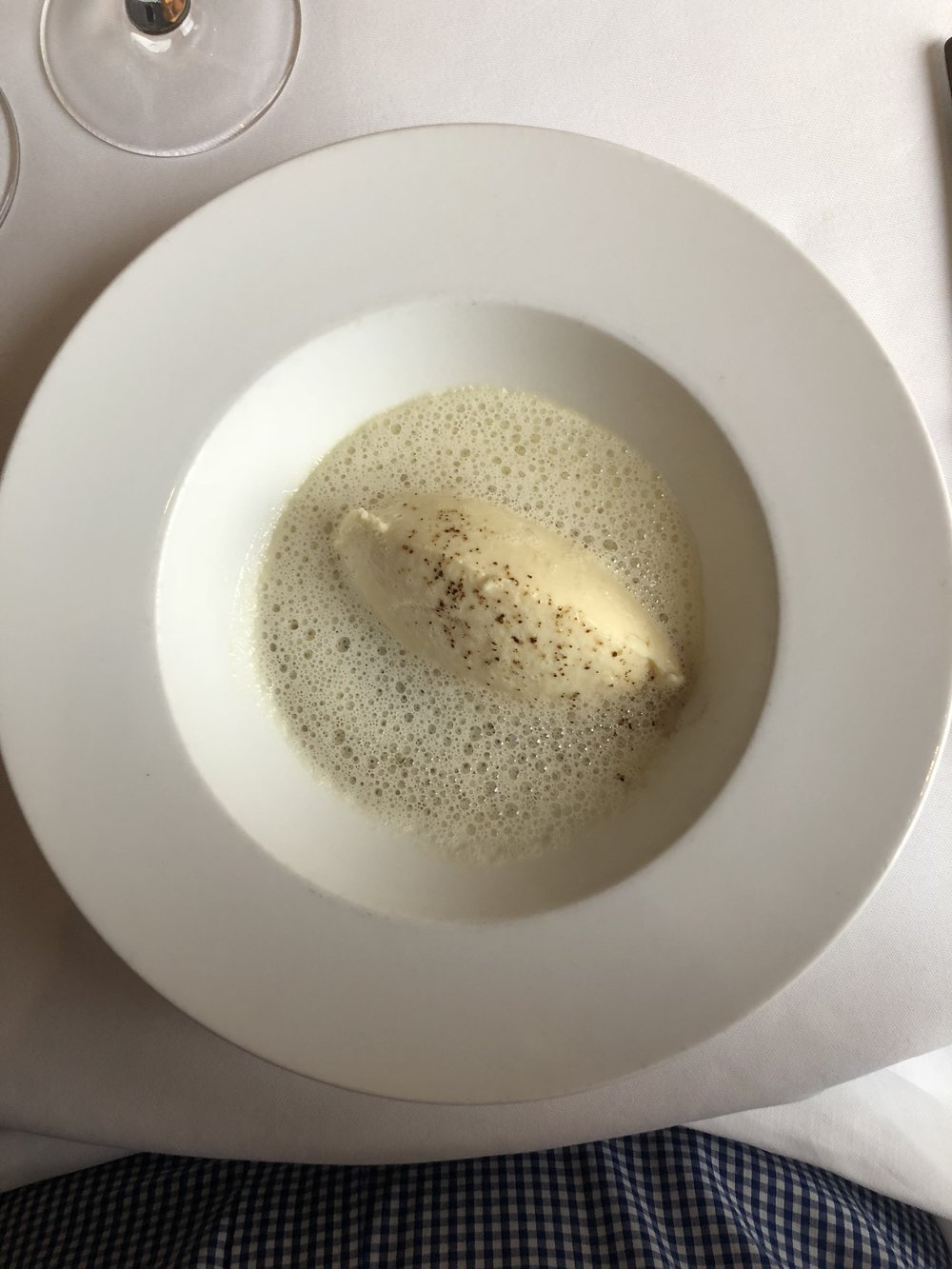 Scallop Mousse with Foam