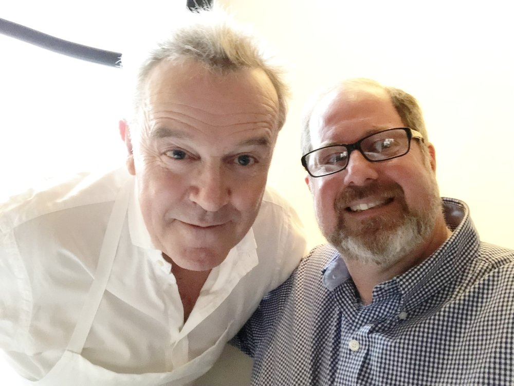 Me and My New BFF Chef Alain Passard.