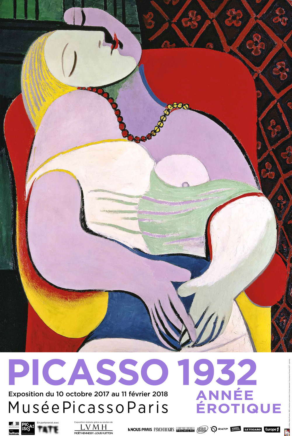 Exhibition Poster for Picasso 1932. Image courtesy of the Picasso Museum.