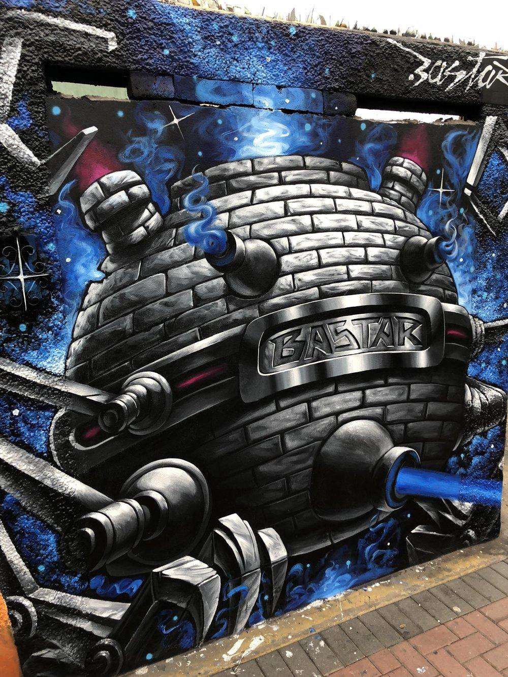 Street Mural Art in Lima