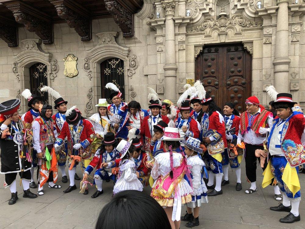 Festival Parade Participants