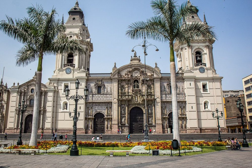 Cathedral In Lima