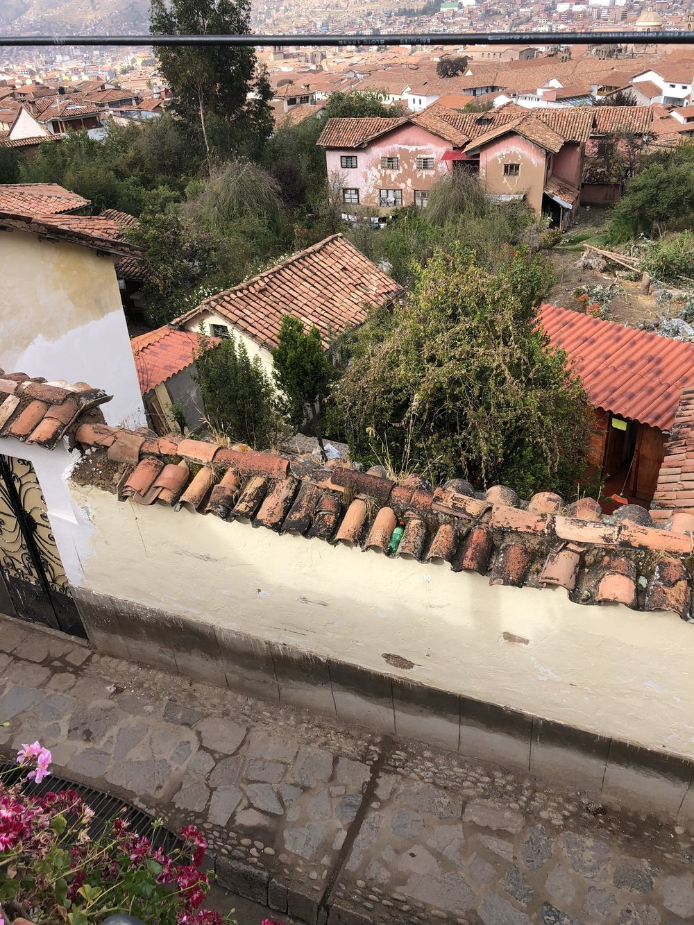 Cusco from Guesthouse